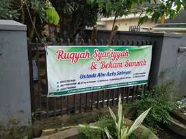 Rumah sehat terapis Ruqyah Syar'iyyah dan Bekam Sunnah
