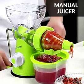 Mini Hand-Manual Multi-Function Juicer Squeezer Fruits Vegetable No Ra