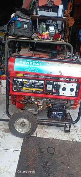 Genset 6000watt bensin