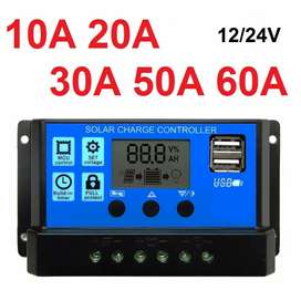 Solar Charge Controller LCD LED Display Solar 12V/24V 10A30A