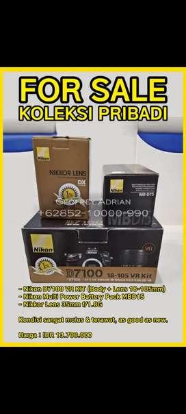 Nikon D7100 VR kit