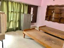 furnished 5.5 marla first floor with italian floor tiles, fridge, ac,