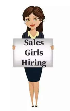 Sale girl required for brand at mall