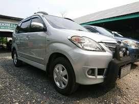 Toyota avanza G tahun 2010 manual warna silver