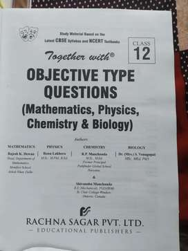 Class XII science objective