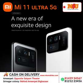 Mi 11 Ultra the flagship phone now avilable at N4U ameerpet