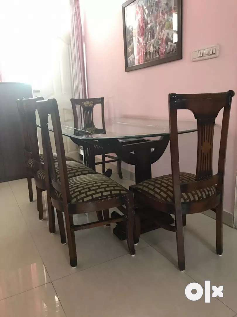 Dining Table including Wooden chairs 0