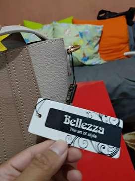 Tas bellezza masih baru , beli seminggu
