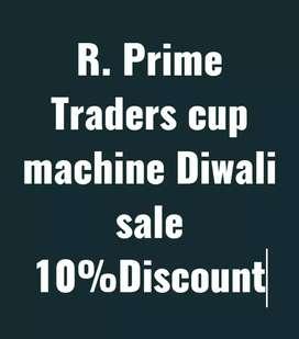 Cup machine sale 10% Discount