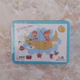 Mainan anak pancing pancingan ikan magnet / fishing game