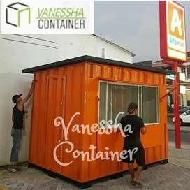 BOOTH SEMI CONTAINER / CONTAINER KEDAI KOPI / CONTAINER COFFEE SHOP