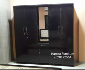 Glossy 7by7 Particle Bord Wardrobe