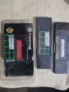 Laptop RAM ddr3 2GB each total 3 units available 6gb