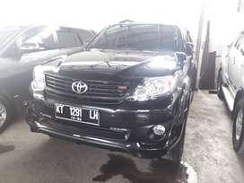 Toyota Fortuner G TRD 4x2 Bensin 2.5 cc Matik tahun 2014