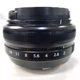Lensa Fujifilm Fujinon XF 18 f/2.0 Masih Garansi
