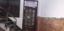 2 room set with lobby area,separate kitchen,mandir for family.