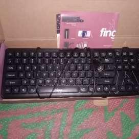 Fingers keyboard