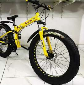 New imported fat tyre CYCLE mountain bike