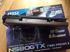 VGA Sangarrr MSI GTX580 Twin Frozr 1.5GB 384bit DDR5