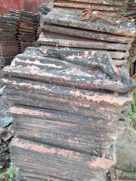Old Albuquerque  tiles (roof tiles)