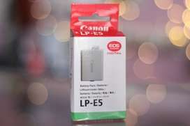 Ready Battery Canon LP-E5 BARU 1000d 450d 500d
