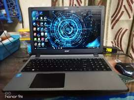 Acer aspire 15 inch laptop with i3 7gen laptop