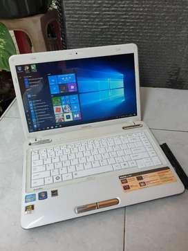 Laptop grafik Toshiba Satellite L745 Intel corei5 with Nvidia