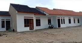 Rumah murah bebas banjir. View pegunungan