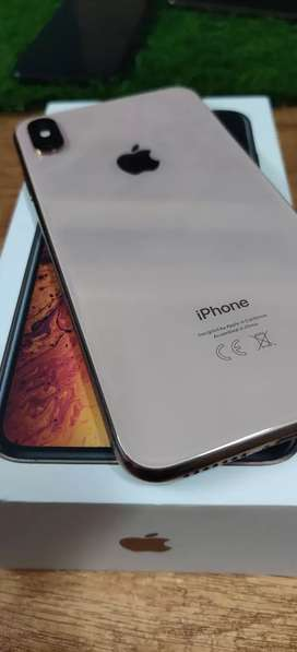 Iphone Xs Max -64GB- Gold- With Apple Warranty