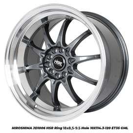 modiff HIROSHIMA JD1006 HSR R18X85/10 H10X114,3-120 ET30/35 GML
