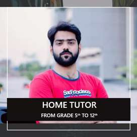 Home Tution from Grade 5th to 12th in Multan