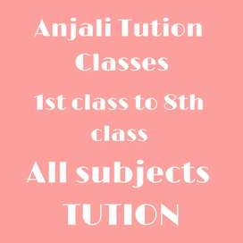 TUTION for all classes