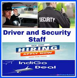 Driver and Security Staff jobs