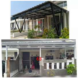 Kanopi minimalis, Kanopi baja ringan, area Pancoran Jakarta