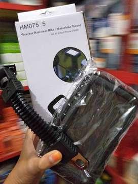 ready holder motor pasang spion waterproof - fleksibel (sinar kita)