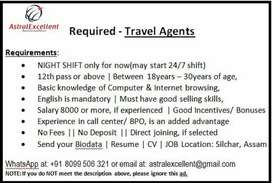 Recruting - Travel Agent
