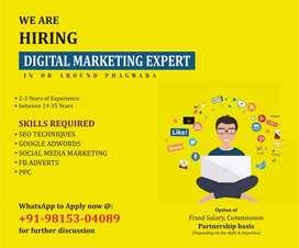JOB VACANCY for Digital Marketing Expert