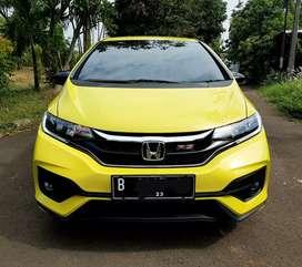 Honda Jazz RS CVT 2018 Yellow Limited