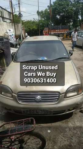 Scrap/Unused/Cars/We purchase/All Cars