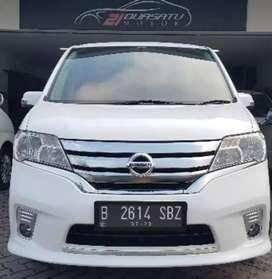 Dijual Nissan SERENA C26 HWS Autamatic 2013  Sangat Terawat BisaCredit