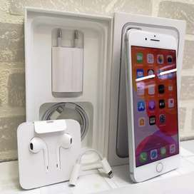 iPhone 7 Plus 128GB Silver Eks Resmi iBox Mulus Fullset Original