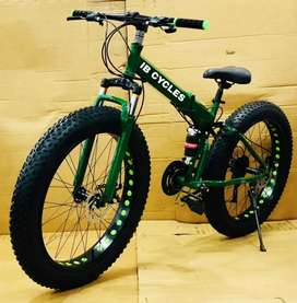 NEW FAT FOLDING 21 GEARS  BICYCLE AVAILABLE