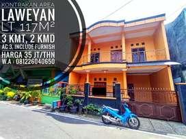 Kontrakan Include Furnish Area Laweyan, Dekat Purwosari, Solo Kota