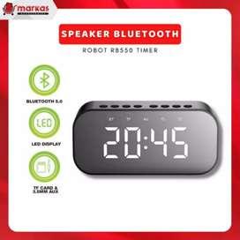 Speaker Bluetooth Robot RB550 Timer