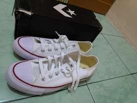 Sepatu Converse Chuck Taylor Allstar OX White Putih-Not BW Adidas