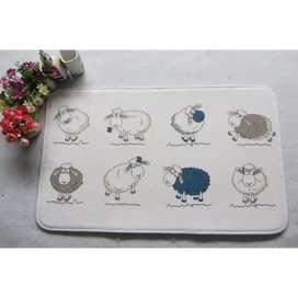 Keset Ruangan Toala Character Kids - SHEEP