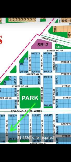 1 kanal plot for sale in sector M