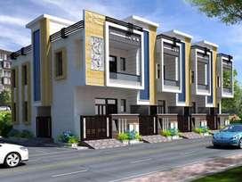 82sqyd 3bhk full duplex villa jda at kalwar road jaipur