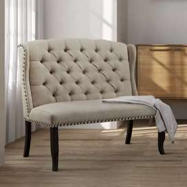 Kursi sofa retro, atau kursi sofa teras, kayu jati, free ongkir