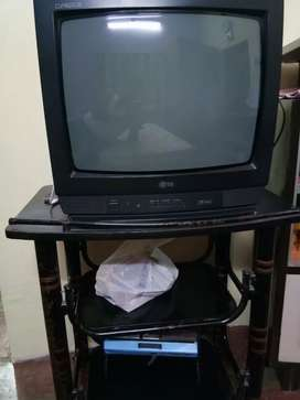 LG TV With Trolly